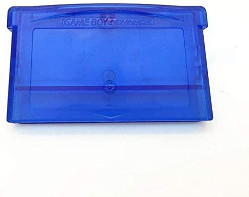 Einuz 2 unidades de cartucho de tarjeta de juego Shell caja de repuesto para Nintend DS Lite NDSL GBA GBA-SP GBM DNS (azul transparente)