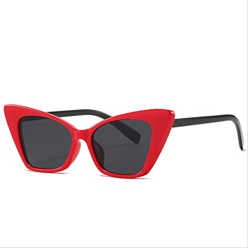 ODNJEMSD Gafas De Sol Personality Cat-Eye Box Moda Tendencia Street Shoot Gafas De Sol