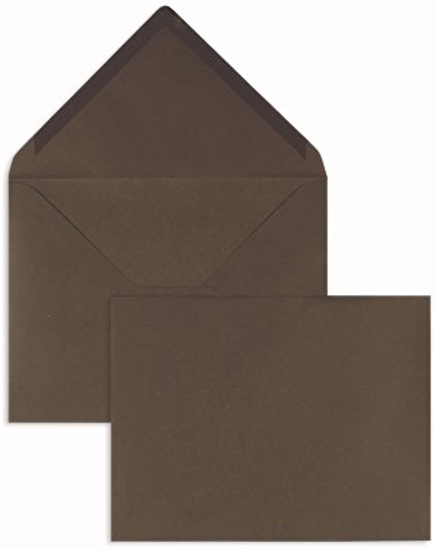 Blanke Briefhüllen - 100 Briefhüllen im Format Format Format 165 x 215 mm in Dunkelbraun B00FPO3AVM | Die erste Reihe von umfassenden Spezifikationen für Kunden  6e018f