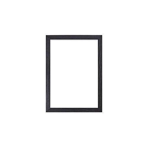 Schwarz rahmen - Konfetti-Holz range 20 mm Bild- / Foto- / Posterrahmen - Mit MDF platte - mit Plexiglasblatte - 50,8 x 40,6 cm