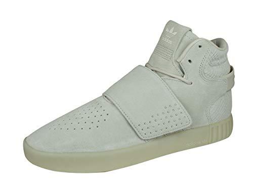 Adidas Originals Tubular Invader Strap Herren Sneakers Sportschuhe, schwarz, 44 2/3 EU