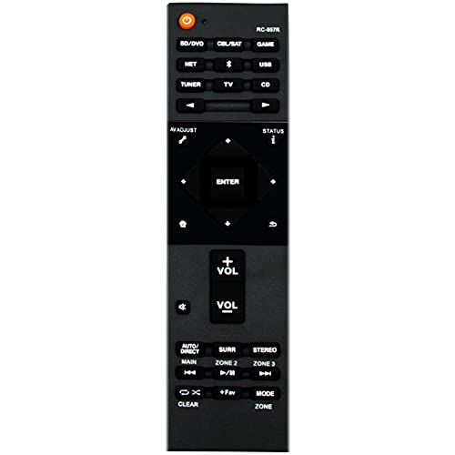 RC-957R Replacement Remote Control fit for Pioneer AV Receiver VSX-932...