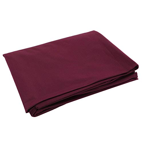 ExcLent 2.5X1.45M Single-Sided Billiards Pool Snooker Table Cover Cloth For 7/8 Inch Table - rot