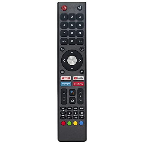 ALLIMITY GCBLTV02ADBBT Fernbedienung Ersetzen für ChangHong CHIQ UHD TV GCBLTV02 ADBBT U43H7A U50H7A U55H7A U58H7A U43H7A L32H7S L40H7S L43H7S U58H7S