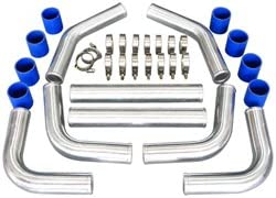 CXRacing-3 Inch Universal Polished Weekly update Aluminum lowest price Piping Kit