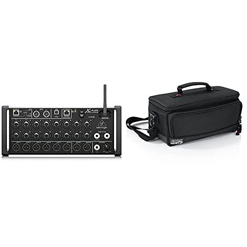 Behringer X Air XR18 Digital Mixer & GATOR-Koffer Verstärktes Nylon G-Mixerbag 13