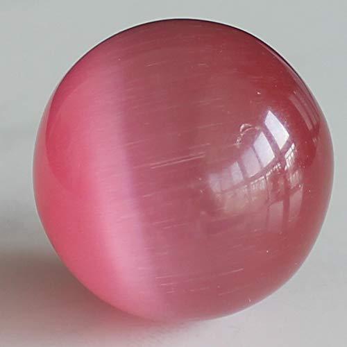 30mm Cat's Eye Sphere Ball (red)