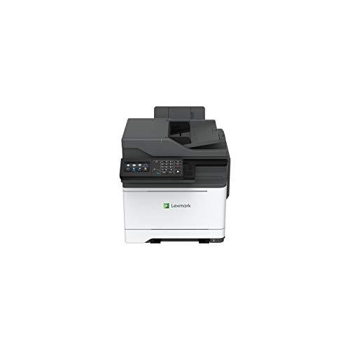 Lexmark CX622ade Laser 37 ppm 1200 x 1200 DPI A4 - Impresora multifunción (Laser, 1200 x 1200 DPI, 251 hojas, A4, Impresión directa, Negro, Blanco)