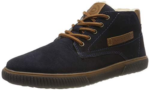 bugatti Herren 321603501400 Hohe Sneaker, Blau, 42 EU