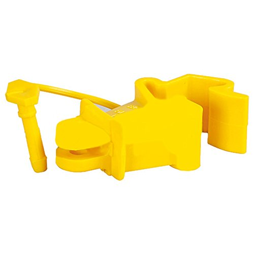 Patura Standard-Isolator mit Stift, gelb, für T-Pfosten (25 Stück / Pack)