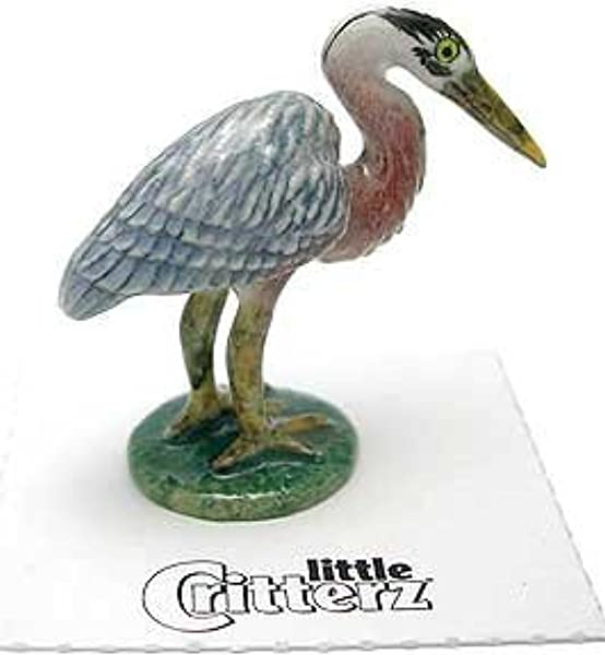 Little Critterz Majestic Blue Heron