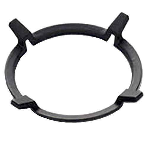 Jcevium 1 unid negro wok soportes de hierro fundido Wok Pan soporte rack para quemadores de gas cocinas suministros de cocina accesorios de herramientas