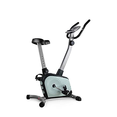 DJDLLZY Bicicleta de Ejercicio Portátil Ajustable Ultra Silencioso Control Magnético Vertical Equipamiento de Fitness Bicicleta para Hacer Deporte en Casa (Tamaño: 85 * 54 * 122 cm)