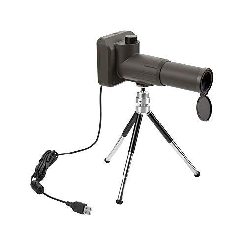 Binoculares para adultos, telescopio monocular, cámara telescópica monocular digital 20x Grabadora fotos y video 1080P Compatible con USB para ver cámara digital Telescopio con trípopara conciertos