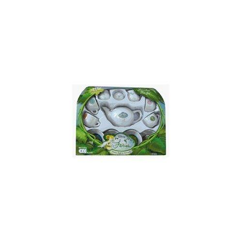 Disney Fairies Tinker Bell & Friends 12-Piece Porcelain Tea Set