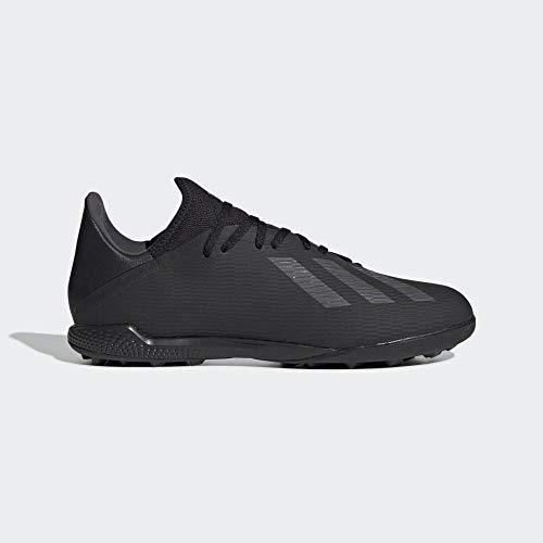 adidas Performance X 19.3 TF - Scarpe da Calcio da Uomo, Colore Nero/Argento, Misura 46