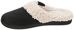 Dearfoams 2017 Womens Slippers Memory Foam Microfiber Suede Clogs