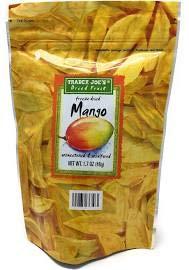 Trader Joe's Freeze Dried Mango 1.7 oz (Pack of 6)