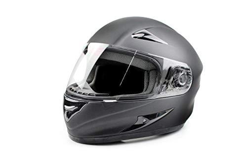 BISOMO Größenvariabler Helm schwarz matt von VITO Helmets von XXL bis 5XL, Größe:XXXXXL