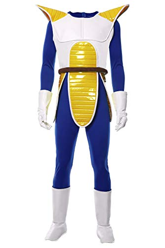 RedJade Dragonball Dragon Ball Z Vegeta Outfit Traje de Cosplay Disfraz Hombres L