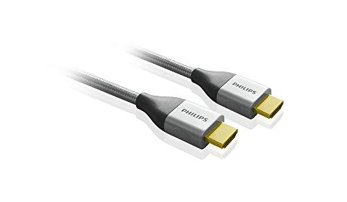Philips SWV3445S/10 Premium kabel HDMI met Ethernet grijs