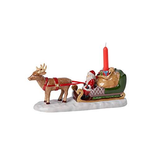 Villeroy & Boch Schlitten Figur, Weiß, Santas