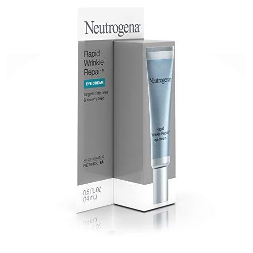 31sFNJg1bZL - Neutrogena Rapid Wrinkle Repair Hyaluronic Acid Retinol Under Eye Cream - Anti Wrinkle Eye Cream for Dark Circles & Puffiness & Under Eye Bags - Hyaluronic Acid, Glycerin & Retinol Cream, 0.5 fl. oz