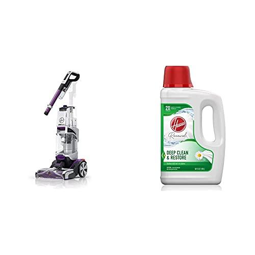Hoover Power Scrub Elite Pet Upright Carpet Cleaner Machine and Shampooer Renewal Deep Cleaning Carpet Shampoo, Concentrated Machine Cleaner Solution