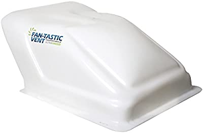 Fan-Tastic Vent U1500WH Ultra Breeze Vent Cover - White Translucent by Atwood