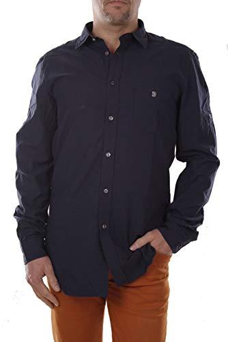 Diesel R-Jimmys Camicia Herren Hemd (L, Blau)