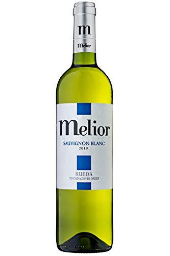 MELIOR Sauvignon Blanc - Pack de 6 botellas 750 ml - 4500 ml