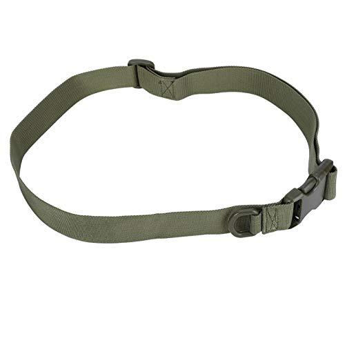 Cuerda de seguridad Hebilla de plástico Tácticas Cinturón de cintura Cinturón de entrenamiento al aire libre, para correas(ArmyGreen, Outdoor training belt)