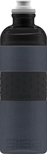 Sigg Hero Anthracite, Sport Trinkflasche, 0.6 L, Squeezable, Polypropylen, BPA frei, Grau
