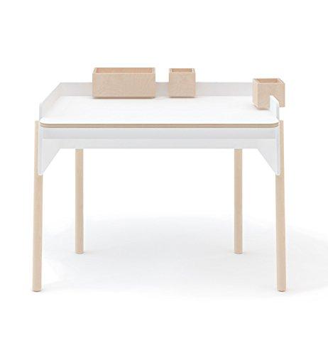 Oeuf Brooklyn Desk - Birch, White