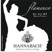 HANNABACH/クラシックギター弦 Flamenco/SET827【ハナバッハ】黒 MT ミディアムテンション