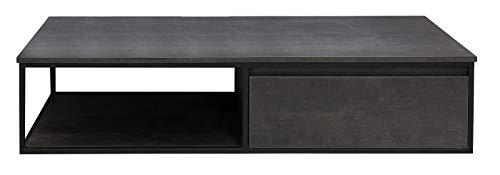 Badmöbel Unterschrank REED-120 (HPL/beton) ohne Waschtisch