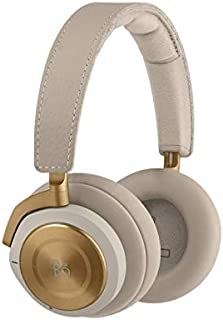 Bang & Olufsen 1645059 Beoplay H9i Wireless Bluetooth Over-Ear Headphones with Active Noise Cancellation, Transparency Mode and Microphone - Black/Natural/Bronzetone (Pack of1)