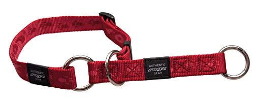 Rogz HBC23-C Alpinist Stopp- Halsband/Matterhorn, M, rot