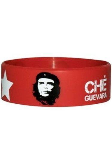 Che Guevara Pulsera de goma roja revolucionaria