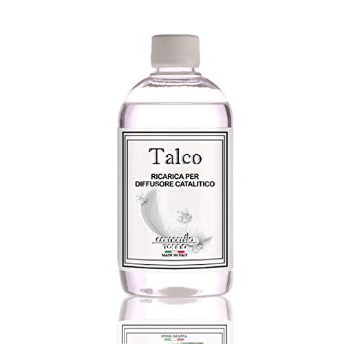 Ricarica Diffusore di profumo per lampada profumata catalitica, 500ml Talco