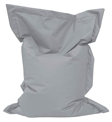 pas cher un bon GiantBag Pouf géant pour usage intérieur et extérieur Coussins de sol pour enfants et adultes, gris,…