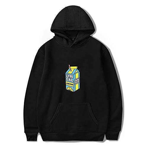 Jack Harlow Hoodie Unisex Langarm Sweatshirts Damen Herren Hoodies American Rapper Hip Hop Style Harajuku Kleidung Plus Size Gr. Small, Schwarz
