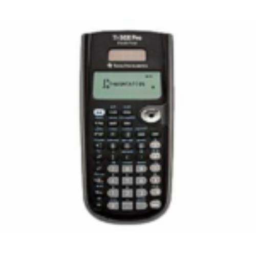 Texas Instruments TI-30X PRO Bureaurekenmachine, wetenschappelijke rekenmachine, 16 cijfers, 4 regels, accu/zonne-energie, zwart