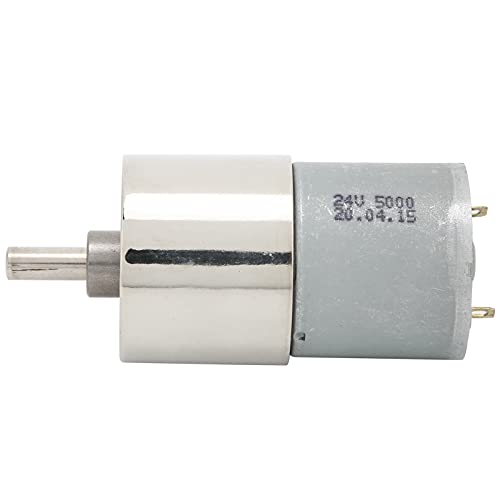 Speed Reduction Motor, Slow Temperature Rise DC Gear Motor Low Speed Motor Mini Permanent Magnet for Humidifiers for Air Fresheners for Dehumidifiers(500rpm/min, Pisa Leaning Tower Type)