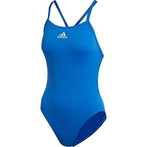 adidas Perf Swim Inf+, Swimwear Donna, Blue/Glow Blue, 42