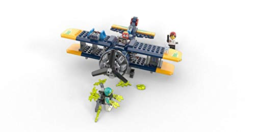 AR LEGO Hidden Side El Fuegos Stunt Plane 70429 Ghost Toy Play Experience for Kids Cool Augmented Reality 295 Pieces New 2020
