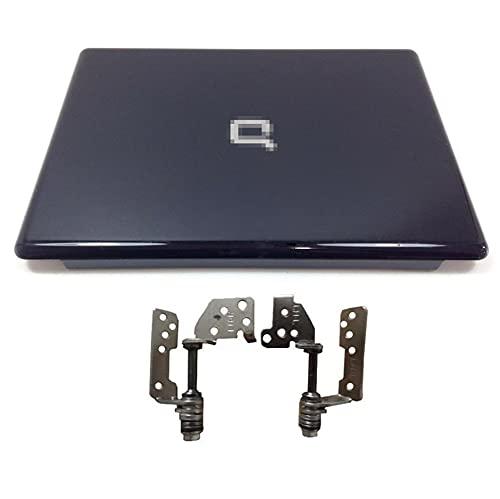 HuiHan Reemplazo para HP Presario CQ50 G50 Laptop Tapa Trasera Tapa Trasera Negro