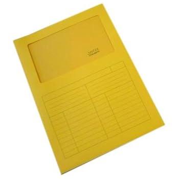 A4, 220 mm, 310 mm Favini A51G124 Folder con Finestra Blu