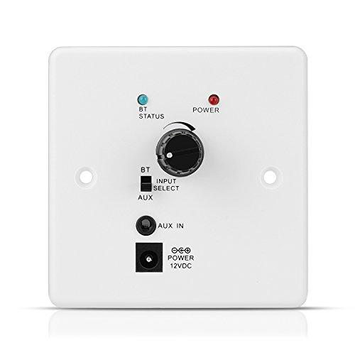 TNP Receptor de Audio Bluetooth en la Pared Adaptador de Música...