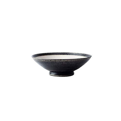 Keramik-Schüssel für Frühstück, Brei, Snack, Reis, Nudeln, Suppe, Besteck, Obstsalat, Tablett, Lebensmittel-Utensilien, 24 x 8 cm